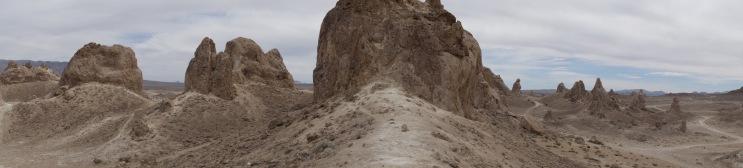 Trona Tufa formations
