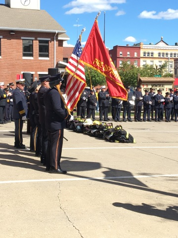 9/11 ceremony in small town NY