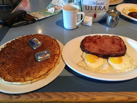 MY breakfast was made for 2 people