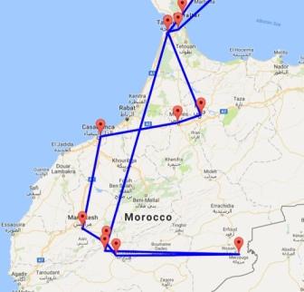 Morocco Routes