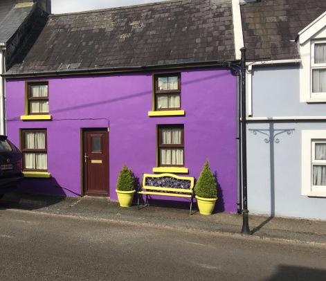 A bold house color