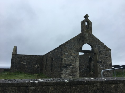 A ruined church, one of so many