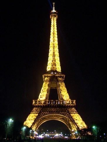 Eiffle Tower Illuminated