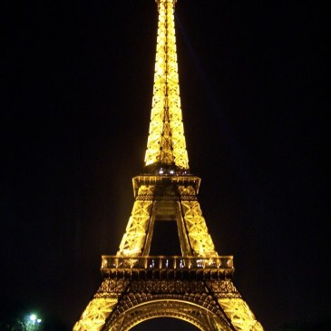 Eiffle Tower Illuminated