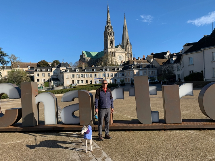 Tony & Brighton at Chartres