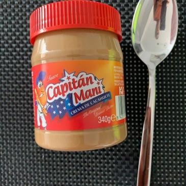 Capitán Maní peanut butter